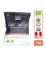 Wasi Organic Cracked Pepper & Sea Salt Purple Corn Chips 75gm