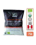 Organic Peruvian Chili Purple Corn Chips 75gm