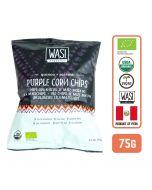 Organic Quinoa & Sesame Purple Corn Chips 75gm