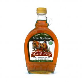 Organic Pure Maple Syrup 355ml Case (12 Btl)