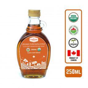 Foodsterr Organic Maple Syrup, 250ml Case (12 Btl)