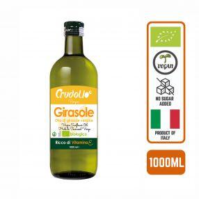Crudolio Organic Sunflower Oil, 1L