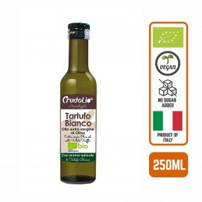 Crudolio Extra Virgin Olive Oil with White Truffle, 250ml