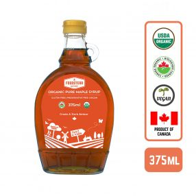 Foodsterr Organic Maple Syrup, 375ml