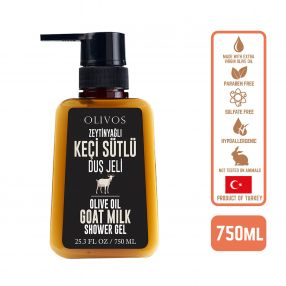 Olivos Olive Oil Goat Milk Shower gel, 750ml