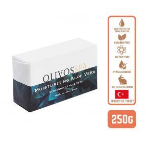 Olivos Olive Oil Spa Aloe Vera Soap, 250g