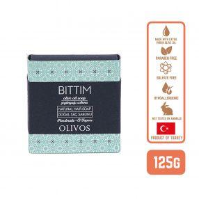 Olivos Olive Oil Bittim Hair Soap, 125g