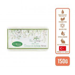 Olivos Olive Oil Classic Olive Oil Soap with Olive Leaf, 150g