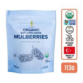 Amphora Organic Soft Dried Mulberries