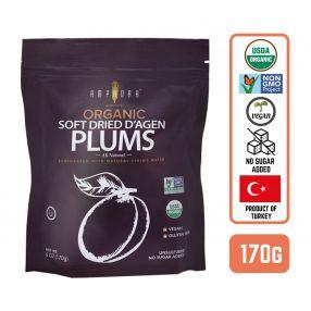 Organic Soft Dried Plums