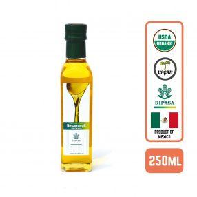 Organic Extra Virgin Sesame Oil 250ml