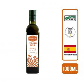 Foodsterr Extra Virgin Olive Oil Cold Pressed, 500ml (12pc/case) - Conventional