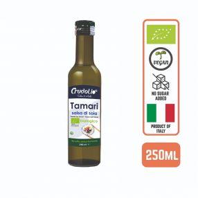 Crudolio Organic Tamari Sauce, 250ml_Front.jpg