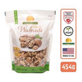 Walnut 80% Halves Extra Light, 1LB