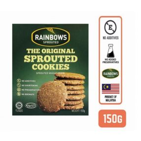 Rainbows Sprouted Original Wheat Grain Sprouted Cookies