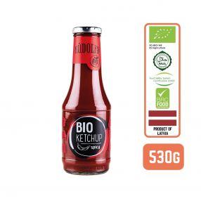 Rudolfs Organic Tomato Ketchup - Spicy, 530g