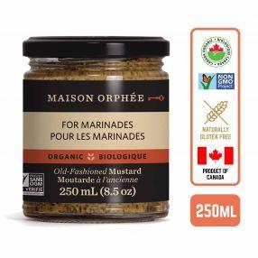 Maison Orphee Organic Old-Fashioned Mustard