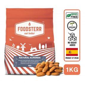 Natural Almonds - 1KG
