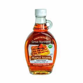 Organic Maple Agave Syrup Blend Case (12 Btl)