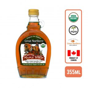 Organic Pure Maple Syrup 355ml