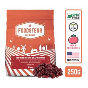 Reduced Sugar Sweetened Dried Cranberries