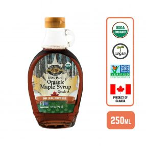 Organic Maple Syrup - Dark Robust, 250ml