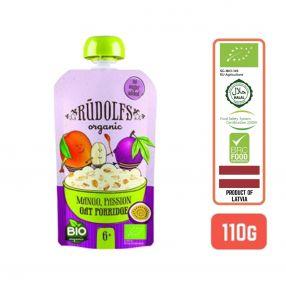 Rudolfs Baby Organic Mango Passion Oat Porridge 6+ Months