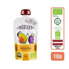 Rudolfs Organic Pear & Prune 4+ Months