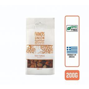 Farmers Union Greek Sultanas Raisins, 200g