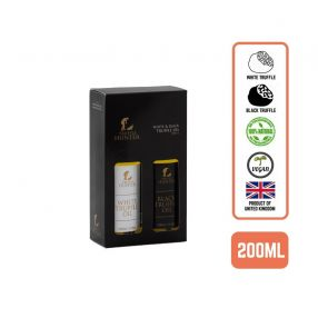 Truffle Hunter White & Black Truffle Oil Gift Set, 2x100ml (6 Bottles)