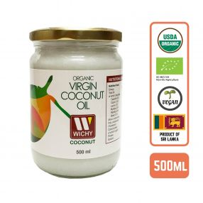 Organic Coconut Oil - Virgin Cold Pressed Case (6 Btl)